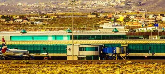 Airport in Tenerife