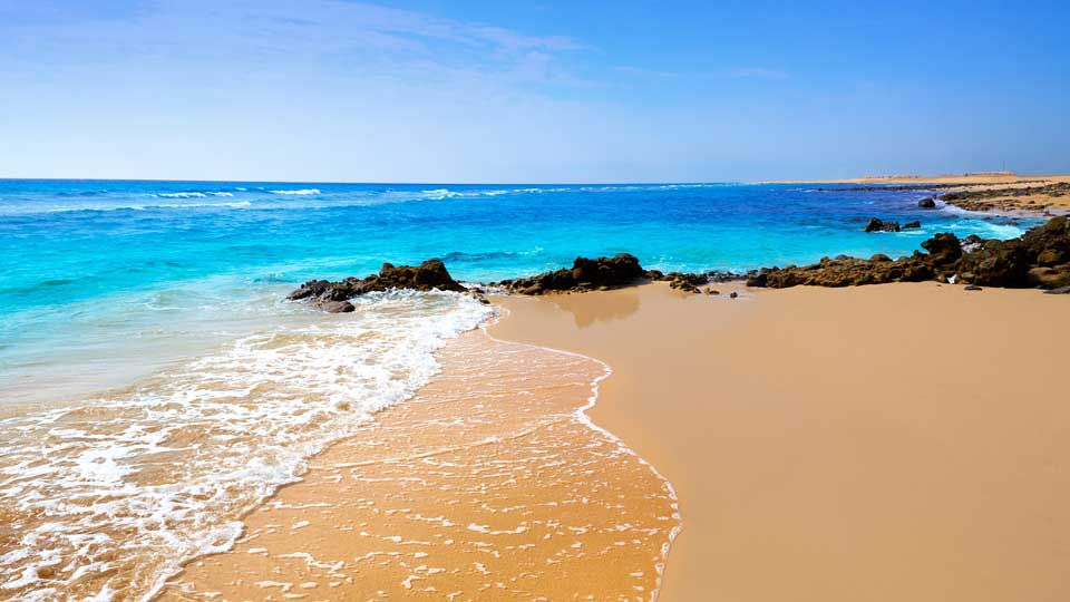 Beautiful Beach in Fuerteventura