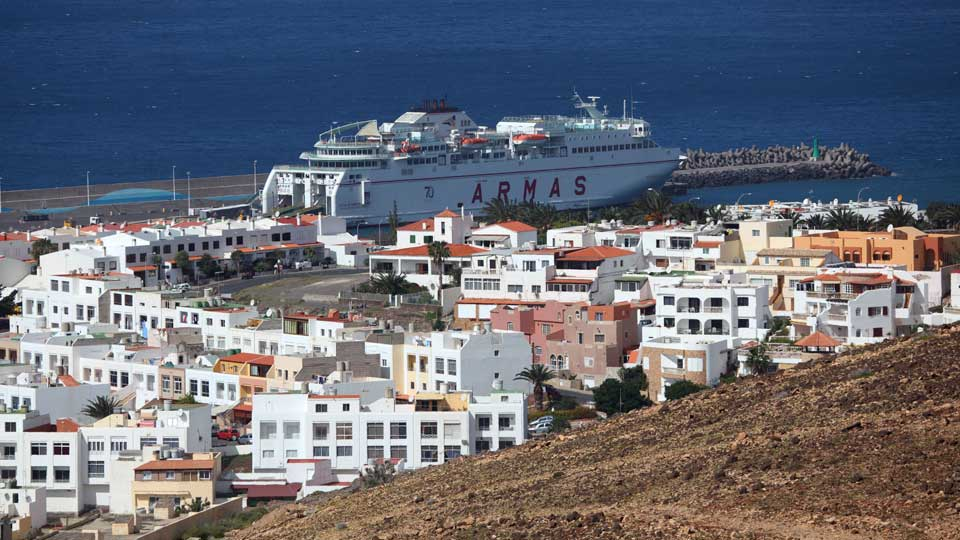 Ferry at Morro Jable Fuerteventura