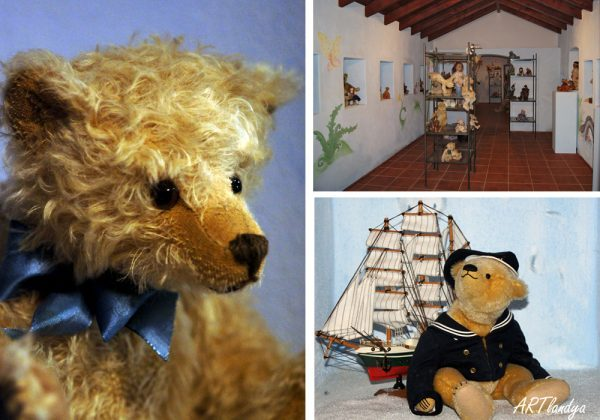 stuffed toys and antiques collection in ARTlandya museum
