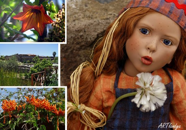 ARTlandya gardens and doll