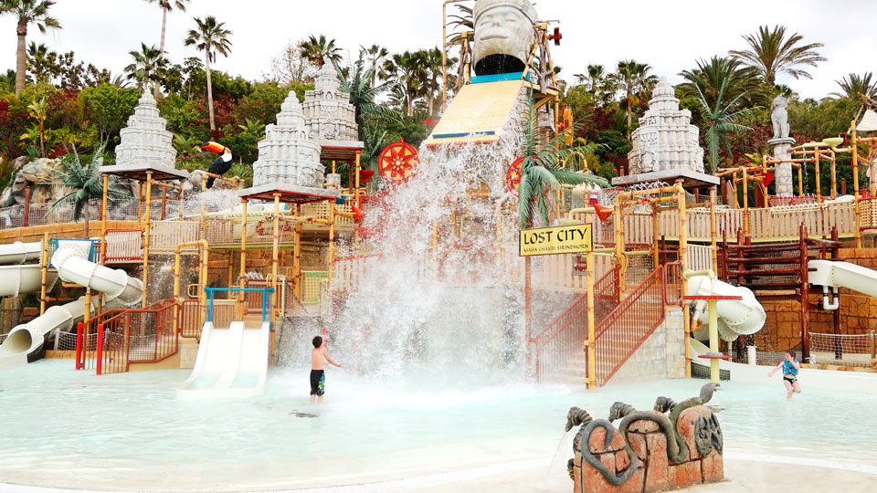 The Lost City in Siam Park