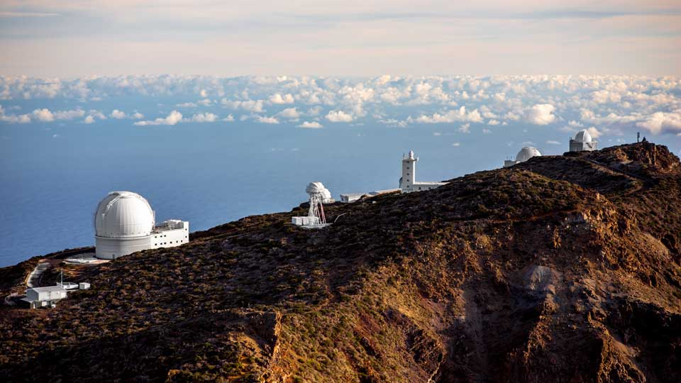 Astronomical Telescopes in La Palma