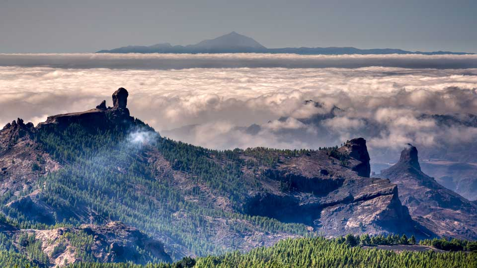 Cloud Rock Roque Nublo