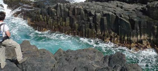 rocky cliffs in El Hierro