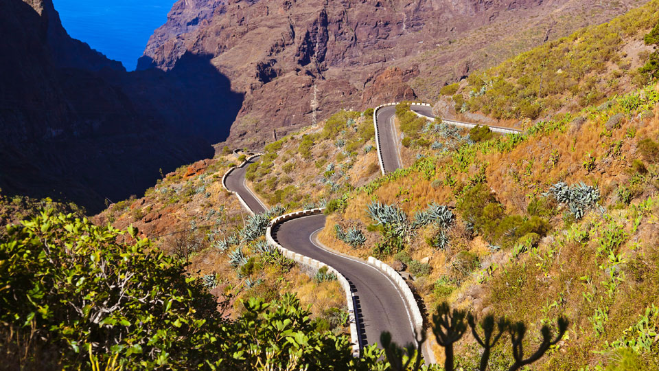 Road Canyon Masca Tenerife