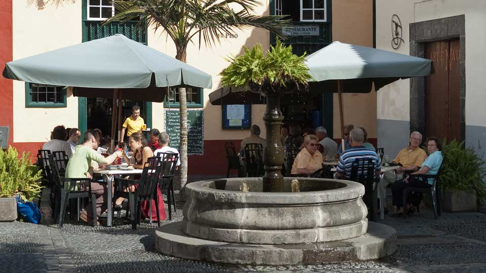 Cafe in Santa Cruz de La Palma