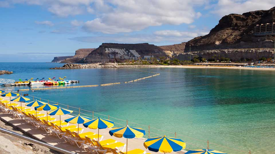 Early Morning Playa de Amadores Gran Canaria