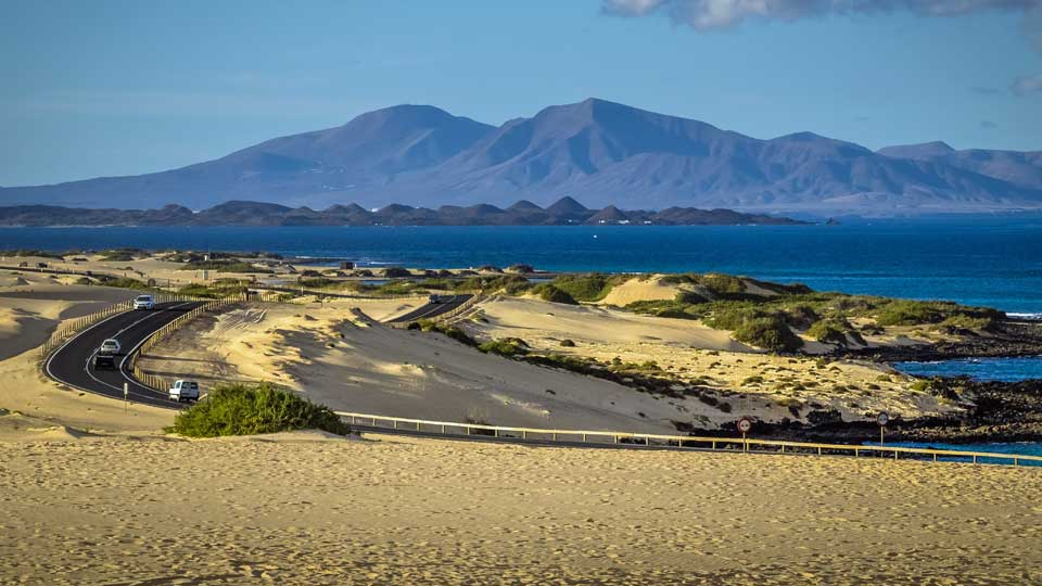 Corralejo Natural Park Road