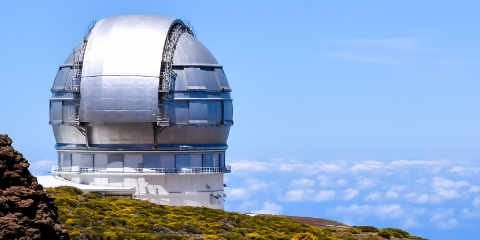 Garafia Scientific Astronomical Observatory Telescope