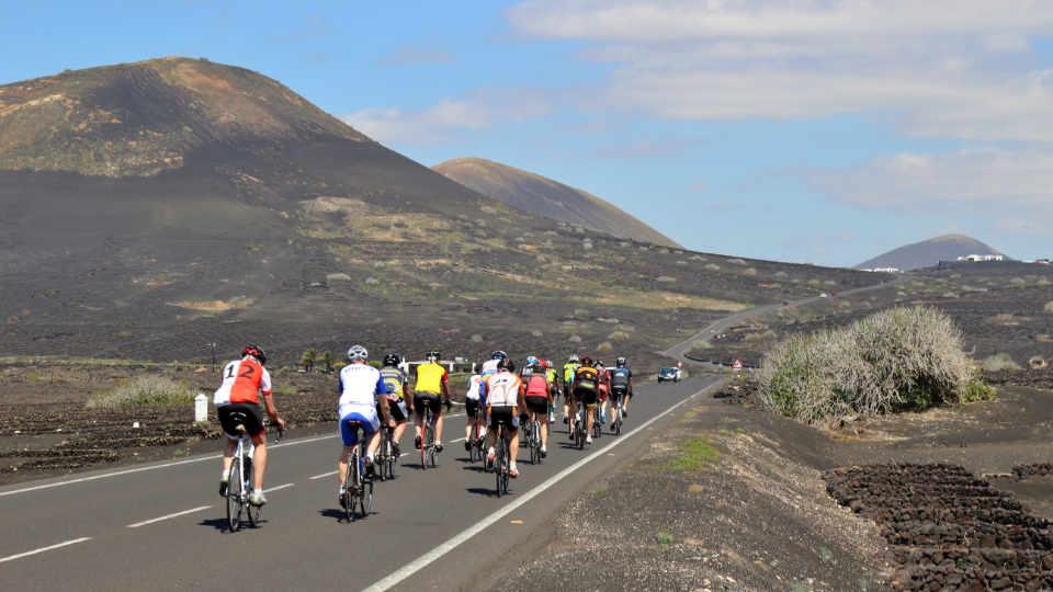 Cycling La Geria Wine Route of Lanzarote