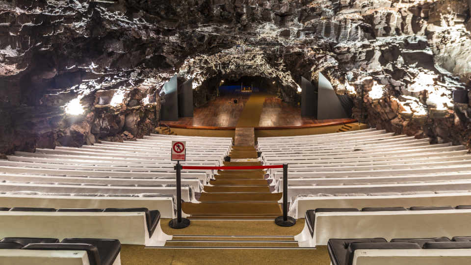 Jameos del Agua Theater Stage