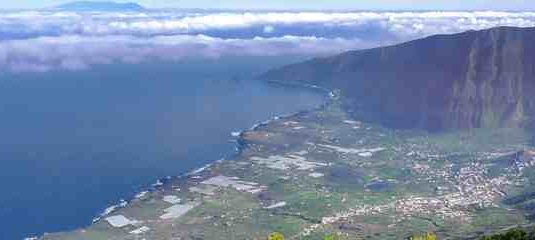 The View of El Golfo from Above