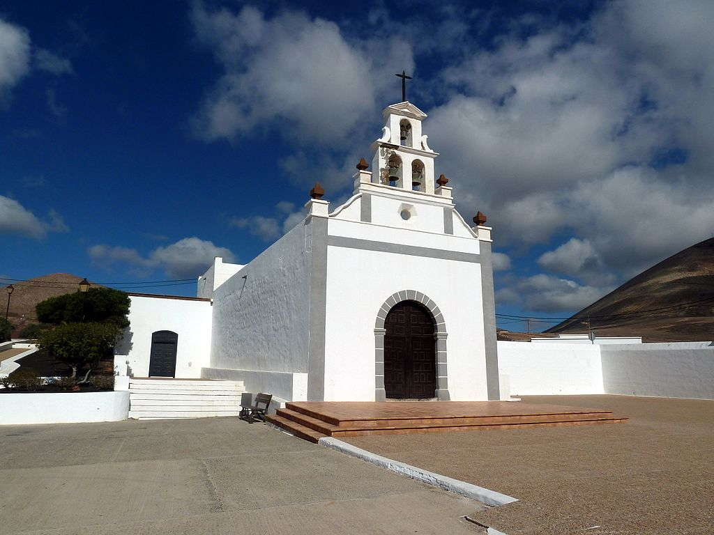 The Hilltop Church of Nuestra Señora de la Candelaria Church