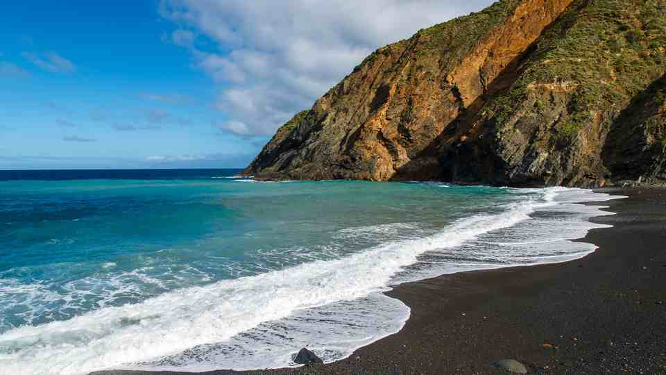The Black Sand Playa de Vallehermoso