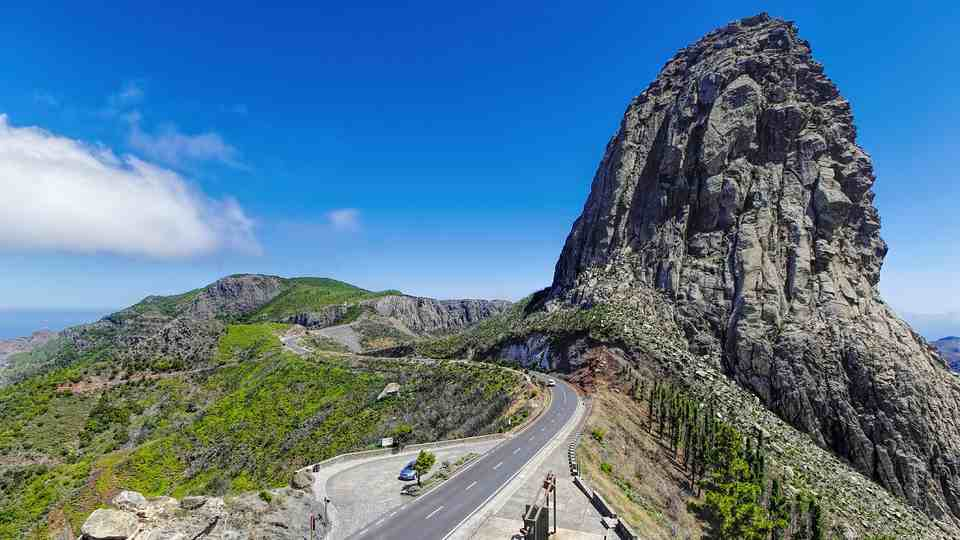 One of the Most Scenic Routes in La Gomera