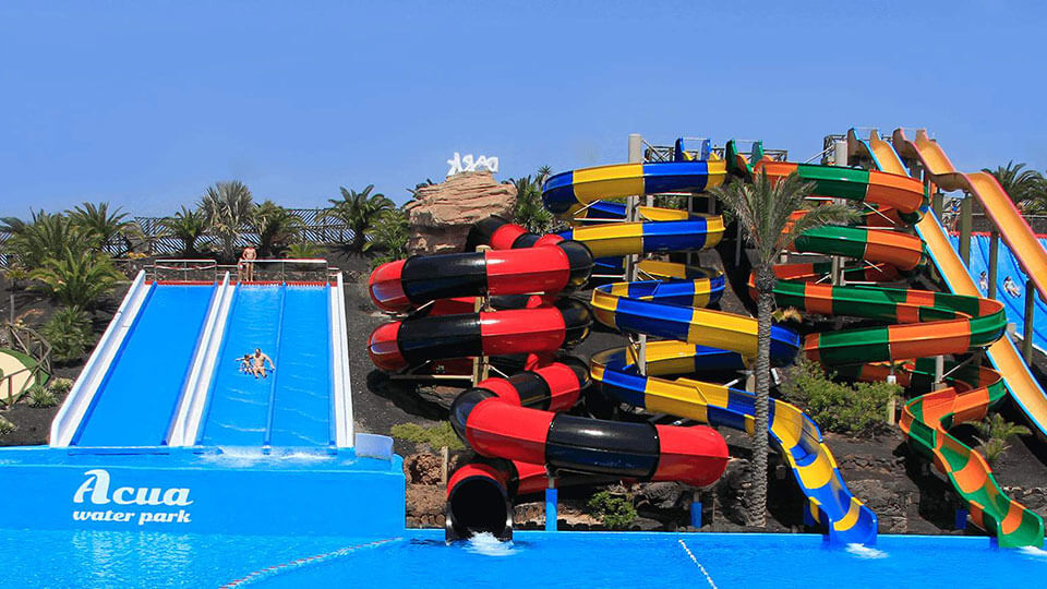 Aquatic Park in Fuerteventura