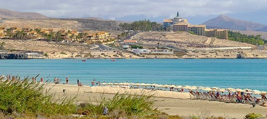 Costa Calma Beach on the Canary island